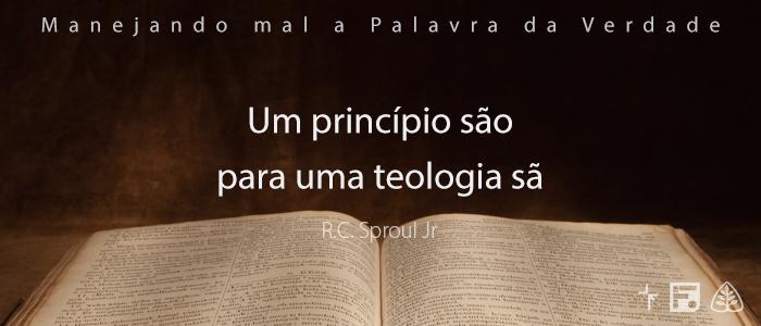 UmPrincipioSaoParaUmaTeologiaSa