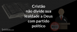 CristaoNaoDivideSuaLealdade