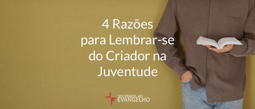 4RazoesParaLembrar