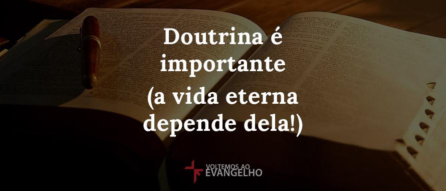 doutrina-e-importante-vida