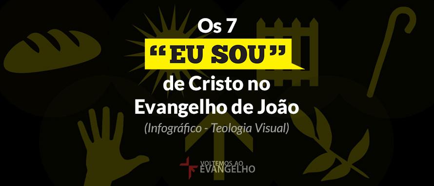 """Eu Sou Um Poeta: Os 7 """"Eu Sou"""" De Cristo No Evangelho De João (Infográfico"""